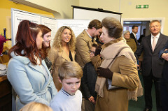 HRH meeting Paddocks End residents